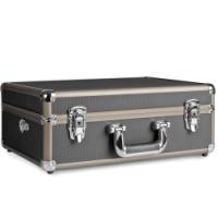 walimex Foto-Koffer Basic M, schwarz/braun Nr. 15119