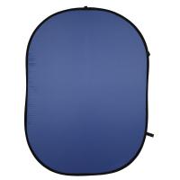 walimex 3er Pack Falthintergrund schwarz/weiß/blau Nr. 16408