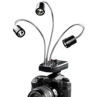 walimex Makro 3-fach LED Leuchte Nr. 17573