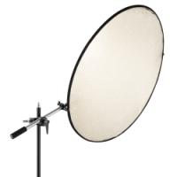 walimex Reflektorhalter mit Klemme, 44-150cm Nr. 16563