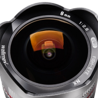 walimex pro 8/2,8 Fish-Eye I CSC Samsung NX silber Nr. 18335