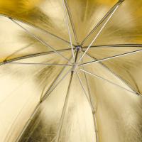 walimex Reflexschirm gold, 84cm Nr. 12134