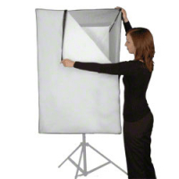 walimex pro Softbox 75x150cm für Multiblitz V Nr. 16027