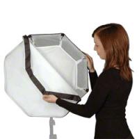 walimex pro Octagon Softbox Ø60cm für Multiblitz P Nr. 16054