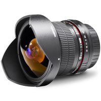 walimex pro 8/3,5 Fish-Eye II DSLR Canon EF-S Nr. 18698