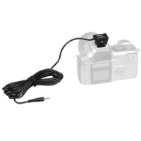 walimex SA-03 Synchrokabel 3,5mm mit Kameraschuh 12516