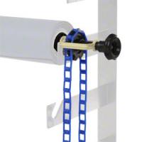 walimex Hintergrundexpan + Kette & Gewicht blau Nr. 12966