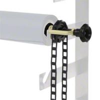 walimex Hintergrundexpan + Kette & Gewicht schwarz Nr. 14955