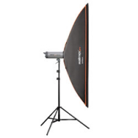 walimex pro Softbox OL 25x150cm Broncolor Nr. 19062