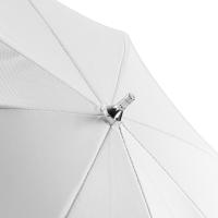 walimex pro Durchlichtschirm weiß, 84cm Nr. 17678