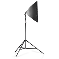 walimex pro 2er Set Daylight 250+ Softbox+ Stativ Nr. 20339