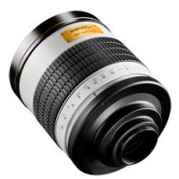 walimex pro 800/8,0 DSLR Spiegel C-Mount weiß Nr. 16868