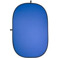 walimex pro 2in1 Falthintergrund grau/blau 180x210 Nr. 18287