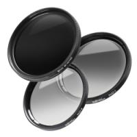 walimex pro Graufilter Komplett Set 77 mm Nr. 20428