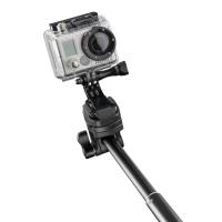 mantona Handstativ Selfy schwarz für GoPro u.a. Nr. 20535