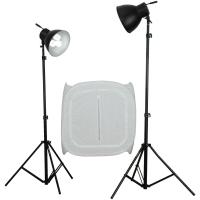 walimex Studioset Daylight 600/600 mit Lichtwürfel Nr. 16549