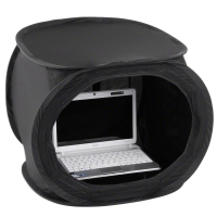 walimex Pop-Up Laptop-Zelt 50x50x50cm super black Nr. 17344