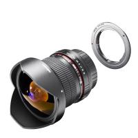 walimex pro 8/3,5 II Pentax K + Adap. f.Canon EF Nr. 20959
