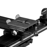 walimex Makro Blitzschiene Pro mit Y-Kabel Olympus Nr. 17881