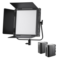 walimex pro Soft LED 520 Brightlight Bi Color Set Nr. 21379