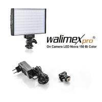 Walimex pro On Camera LED Niova 150 Bi Color Nr. 22290