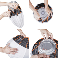 Walimex pro 360° Ambient Light Softbox 50cm mit Softboxadapter Bowens Nr. 22663