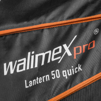 Walimex pro 360° Ambient Light Softbox 50cm mit Softboxadapter Multiblitz V Nr. 22669