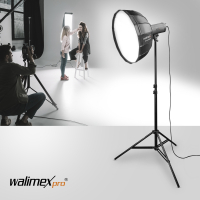 Walimex pro Studio Line Beauty Dish Softbox QA105 mit Softboxadapter Elinchrom Nr. 22633