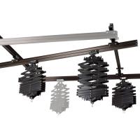 walimex Deckenschienensystem 4x3m, mit 3 Scheren Nr. 16251