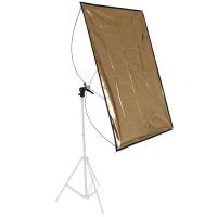 walimex Reflektorpanel silber/gold 90x180cm Nr. 15107
