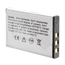 POWER AKKU für Kodak EasyShare LS633 LS743 Zoom Digital Kamera Accu Batterie