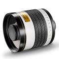 walimex pro 800/8,0 DSLR Spiegel Pentax K weiß Nr. 15554