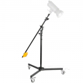 walimex Wheeled Boom Stand with Counterweight No. 17036