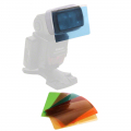 walimex Farbfilter-Set für Kompaktblitze, 6tlg Nr. 16964