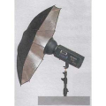 Aurora Lite Bank Umbrella 105 cm silver No. U-105C