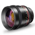 walimex pro 85/1,5 VDSLR Objektiv für Nikon Nr. 19450