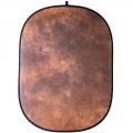 walimex Falthintergrund braun batik 146x200cm Nr. 16511