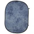 walimex Falthintergrund blau batik 146x200cm Nr. 14930