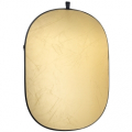 walimex 2in1 Foldable Reflector gold/white, 145x200 No. 20533