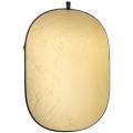 walimex 2in1 Faltreflektor gold/weiß, 145x200 Nr. 20533