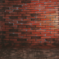 walimex pro Motiv-Stoffhintergrund 'Bricks', 3x6m Nr. 15832