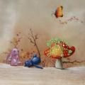walimex pro Motiv-Stoffhintergrund Fairy, 3x6m Nr. 15914