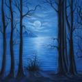 walimex pro Motiv-Stoffhintergrund Moonlight, 3x6m Nr. 17153