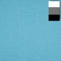 walimex Stoffhintergrund 2,85x6m, türkisblau Nr. 19511