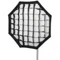 walimex pro Octagon Softbox PLUS Ø90cm für Broncolor Nr. 16172