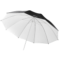 walimex pro Reflex Umbrella black/white, 150cm No. 17659
