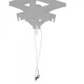 walimex Sicherungsdraht für Schere / Pantograph Nr. 16452