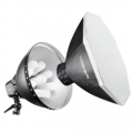 walimex pro Daylight 1260 mit Softbox, Ø 80cm Nr. 15407