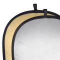 walimex Faltreflektor gold/silber, 91x122cm Nr. 17691