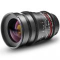 walimex pro 35/1,5 VDSLR Objektiv für Nikon F schwarz Nr. 18712